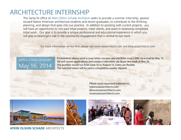 AOSFlyer_InternRecruitment_2014