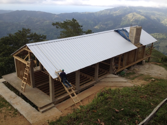 The Mountain Retreat Center currently under construction